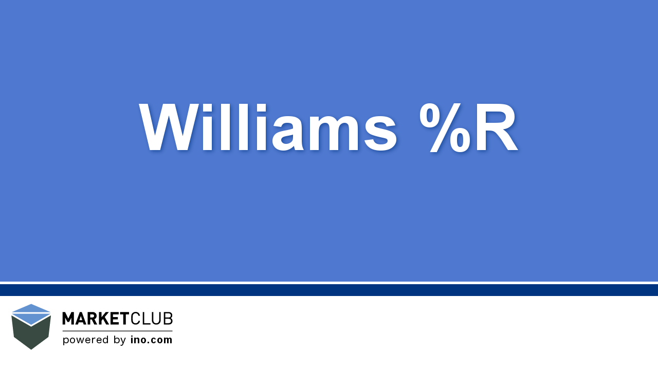 Beginner's Guide to Williams %R