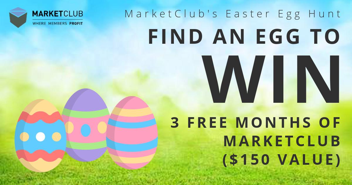 Easter Egg Hunt – Win 3 Months of MarketClub